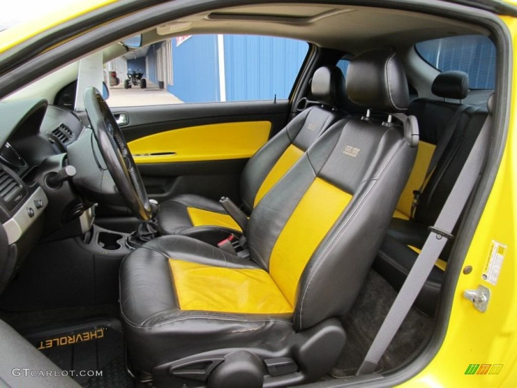 Chevrolet cobalt ss yellow and black interior auto addiction interiors pinterest chevrolet cobalt ss chevrolet cobalt and chevrolet