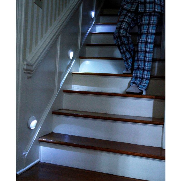 PathLights Wireless LED Stair Lights U2013 Set Of 3 #GREATIDEA