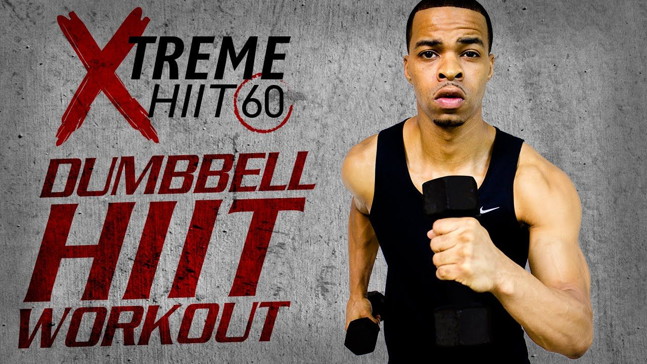 Total Body Light Dumbbell HIIT is 60 minutes of EXTREME HIIT cardio that you've grown to love with Xtreme HIIT 60, but this time we're adding extra weight. We're going to work our arms, legs, and back - followed by a 16 minute dumbbell abs workout. Combing cardio and strength training is the absolute best way to burn fat and get lean in all the right places - and that's exactly what this workout was designed to do.