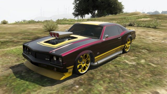 Burger Shot Stallion Gta Front Gta Muscle Cars Pinterest