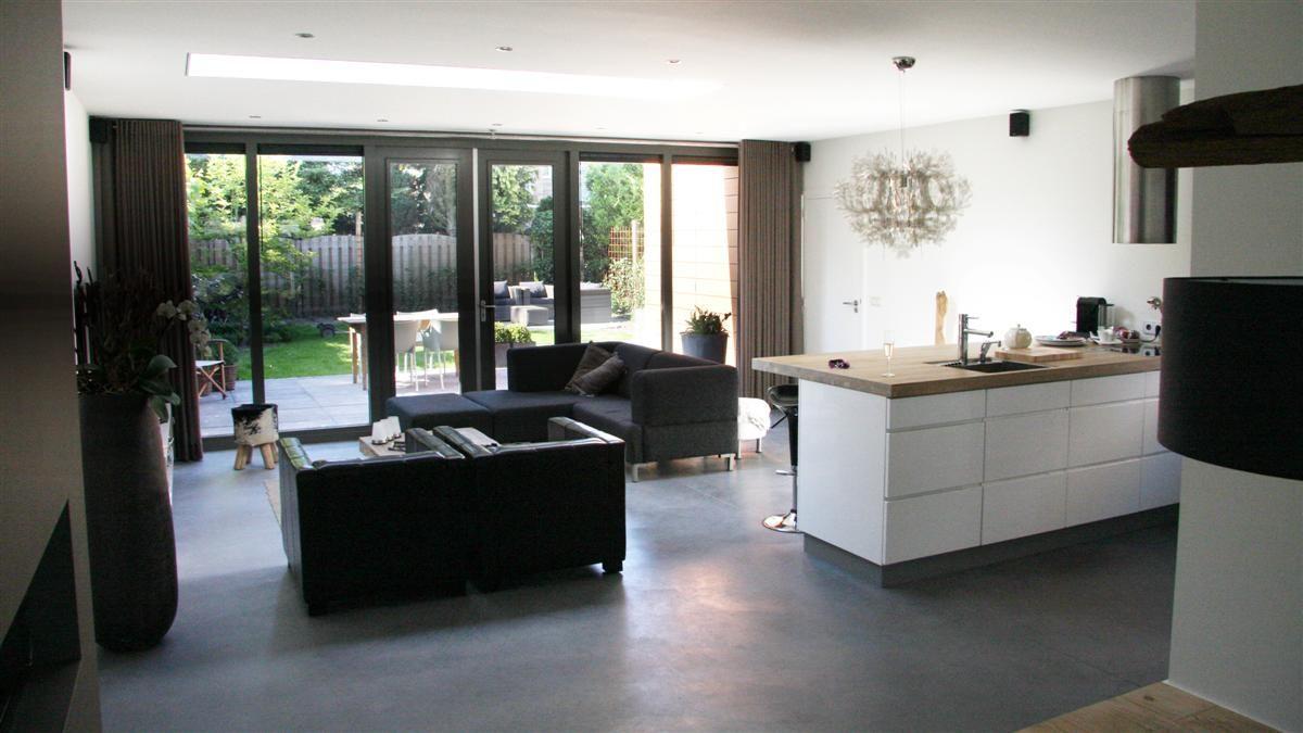 betonvloer woonkamer - Google zoeken - WONEN | Pinterest - Zoeken ...