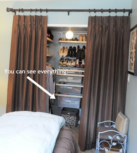 How I Organize My Bedroom Closet | OrganizingMadeFun.com ...