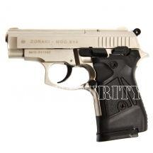 Plynova pistol Atak Zoraki 914 auto nickel, kal. 9mm Knall #guns