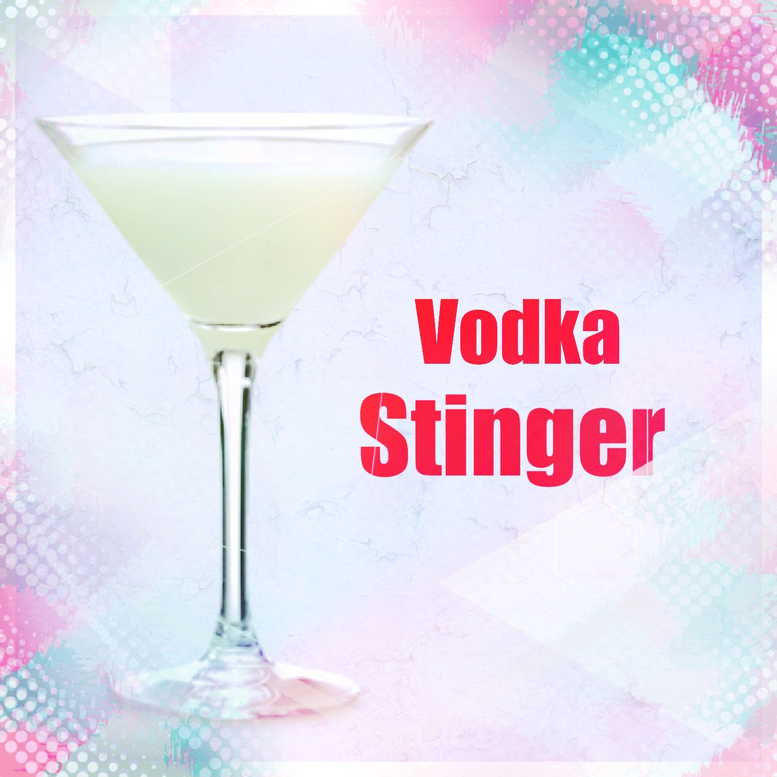 White Noise Presents Vodka Stinger Mixed Drink Welcome To The Home Of The Vodka Stinger Mixed Drink Vodka Stinger Co Mixed Drinks Recipes Mixed Drinks Vodka