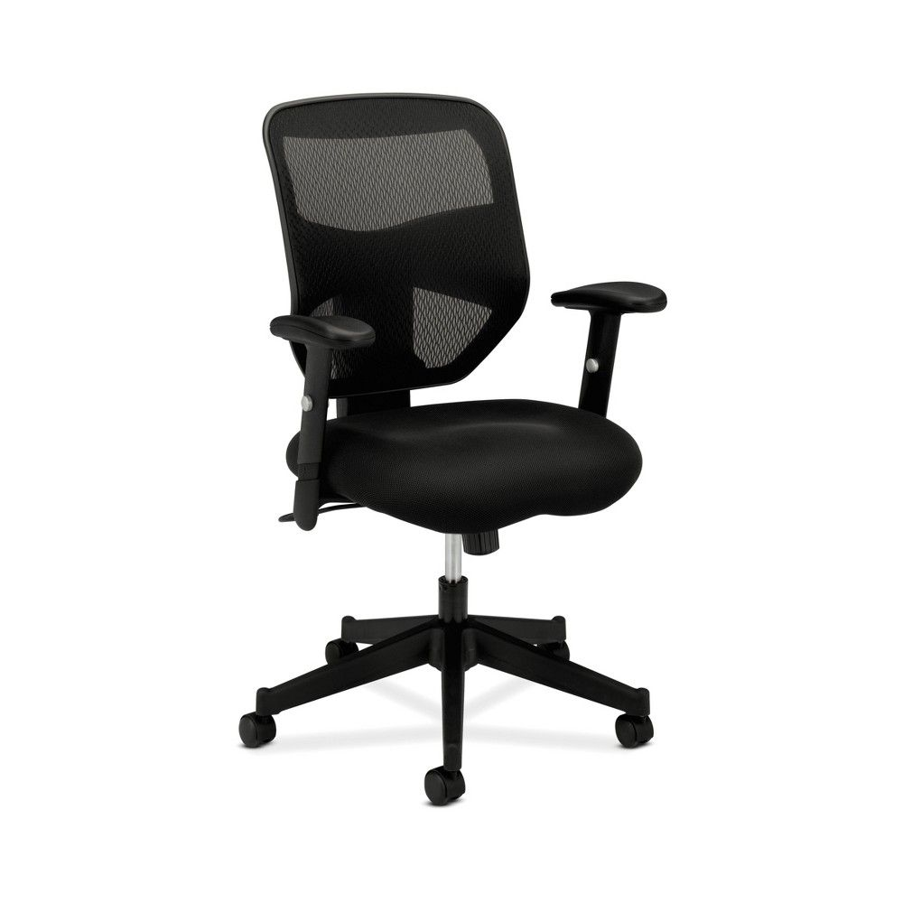 Prominent High Back Work Computer Chair Mesh Black Hon Office