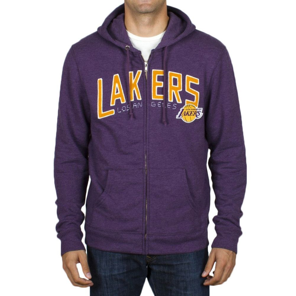 Los Angeles Lakers Half Time Zip Hoodie   Hoodies, Zip