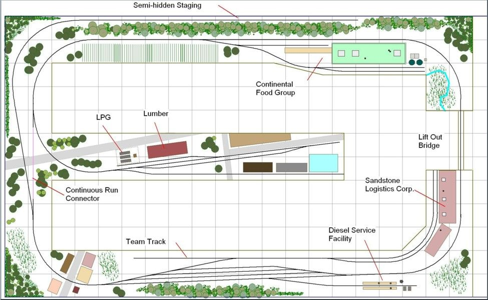 Bedroom size plan for a modern era shortline i like that for Scale room planner