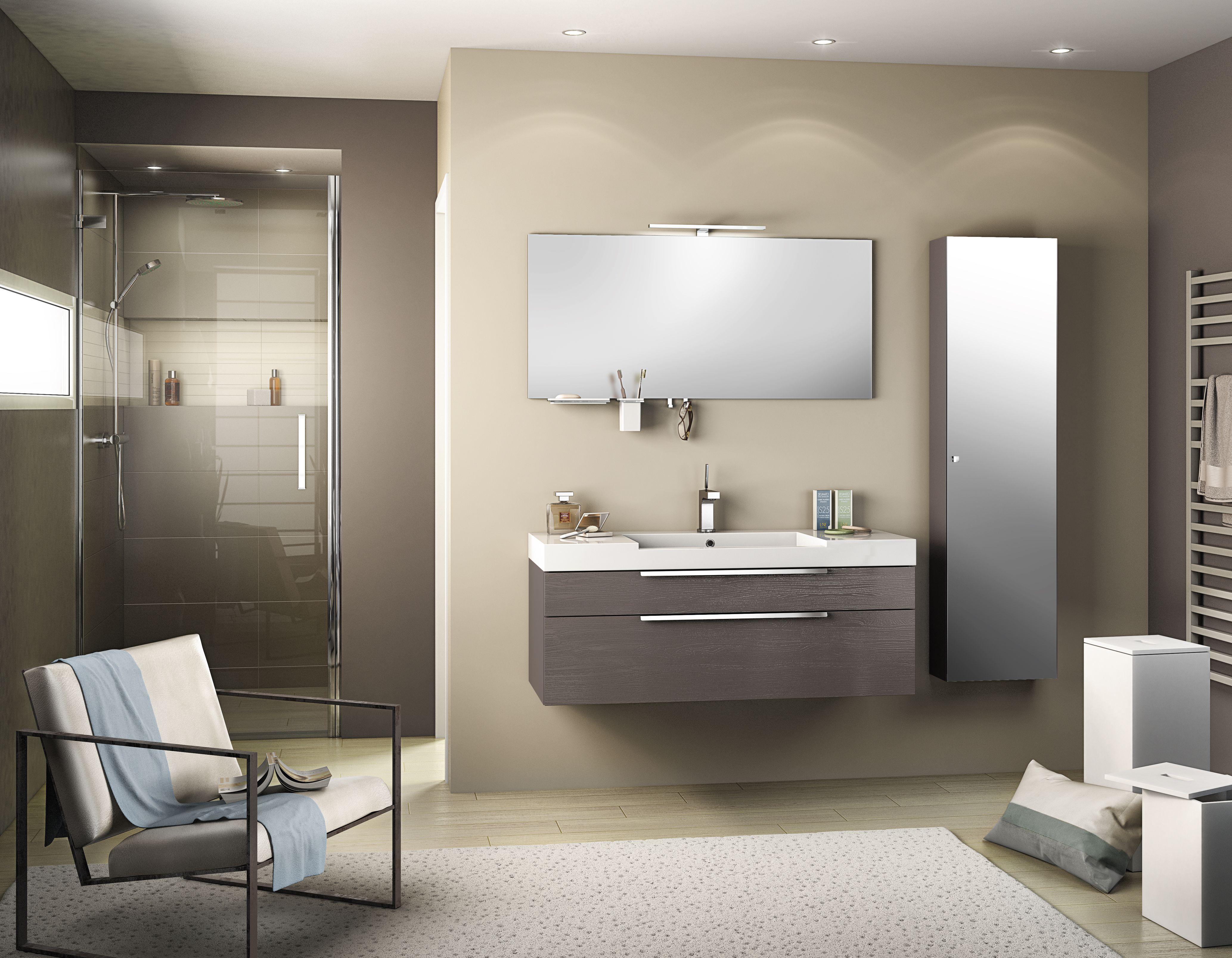 Meuble de salle de bain inspiration 120 cm pour plus d for Carrelage sanitaire