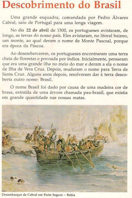 A descoberta do (Pau-)Brasil