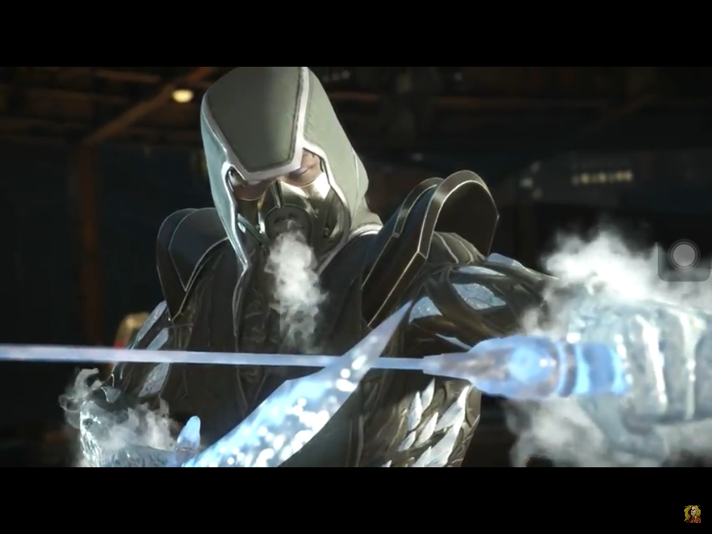 Sub Zero Bi Han Resurrected Shader Intro Injustice 2 Mortal