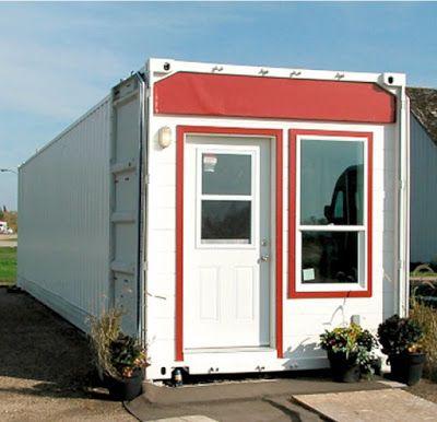 Casas contenedores casa con container de 40 pies - Vivienda contenedor maritimo ...