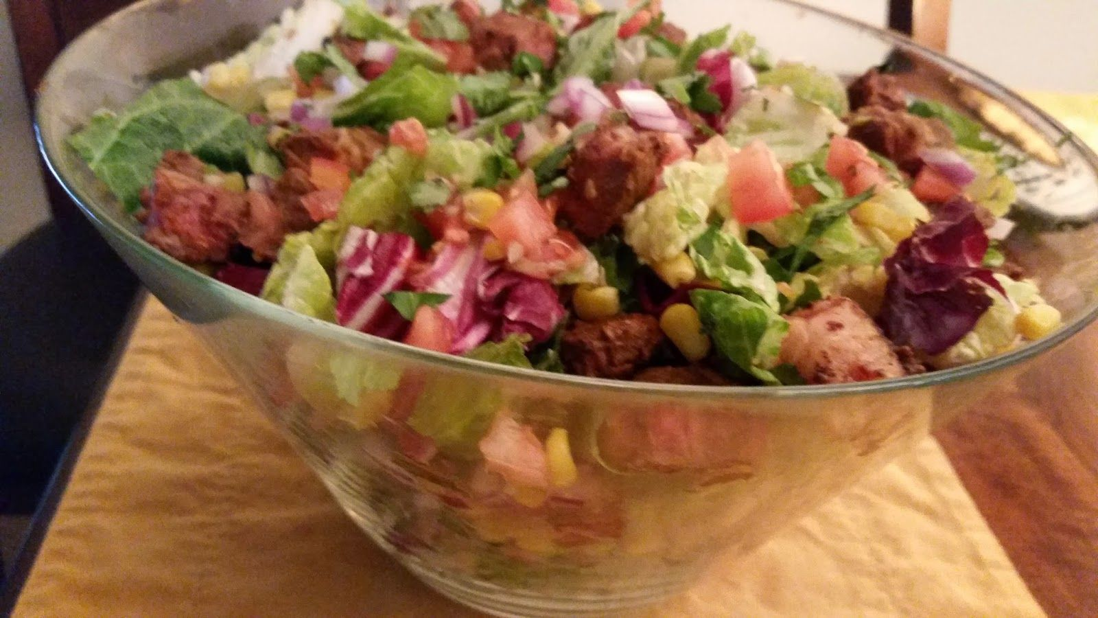 Food and Wine by Jules: Mexican Steak Salad