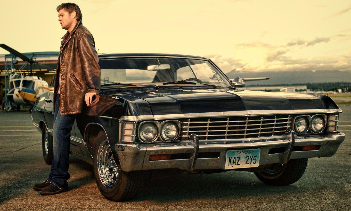 Dean Winchester And His Impala Antilop Chevrolet Impala Dogaustu