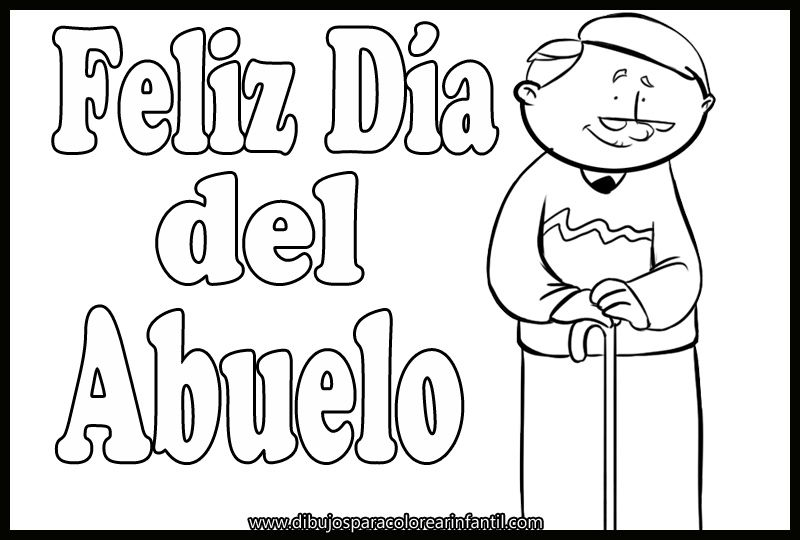 Dibujos Dia Del Abuelo Para Colorear Imagui Math Comics