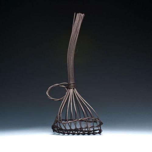 Black Garlic Basket Hand Woven Etsy Basket Basket Design Black Garlic