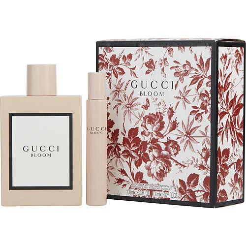 Gucci Bloom By Gucci Eau De Parfum Spray 3 3 Oz Eau De Parfum Rollerball 25 Oz Mini Trivoshop Perfume Gift Sets Gucci Flora Perfume Rollerball Perfume