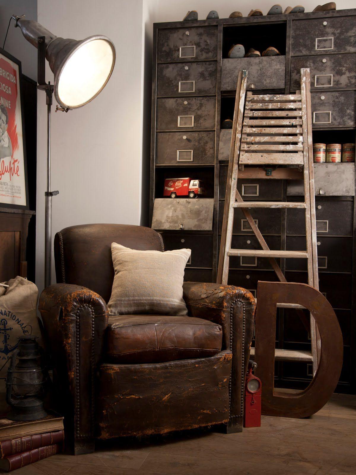 Vintage Industrial Living Rooms Vintage Industrial Living Room