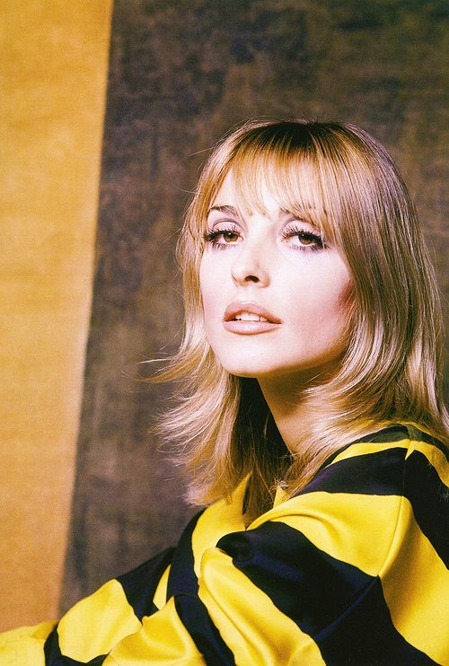 Sharon Tate for Glamour Magazine, 1966. Photo by Milton H. Greene