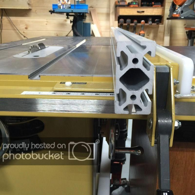 Setting Up Shop Stationary Power Tools With Images Diy Table Saw Fence Diy Table Saw Table Saw Fence