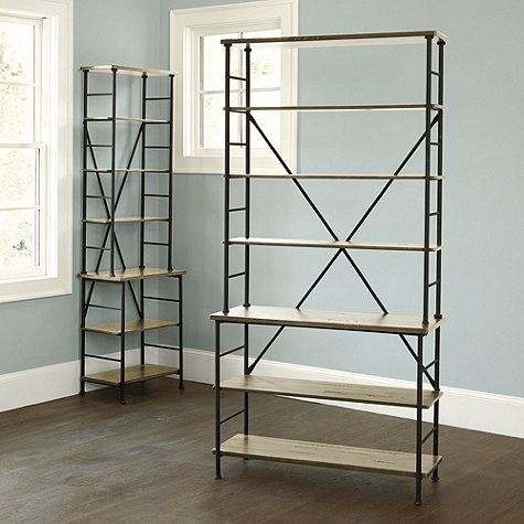 Its Lofty Height And Stepped, Open Design Offers Generous Display Area  Without Overwhelming Your Room