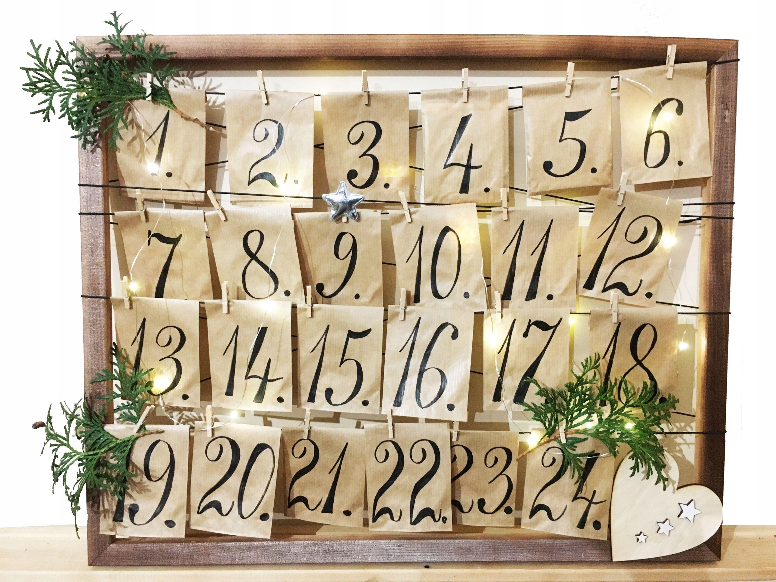 Kalendarz Adwentowy Herbata Prezent Swieta Mikolaj 8729272641 Oficjalne Archiwum Allegro Xmas Diy Calendar Advent Calendar