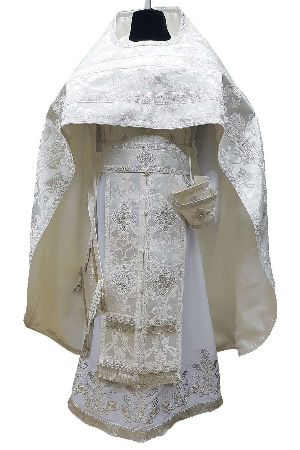 PRIEST VESTMENT WHITE • buy | for sale >>> ORTHODOX in 2020 | Vestment,  Russian fashion, Orthodox