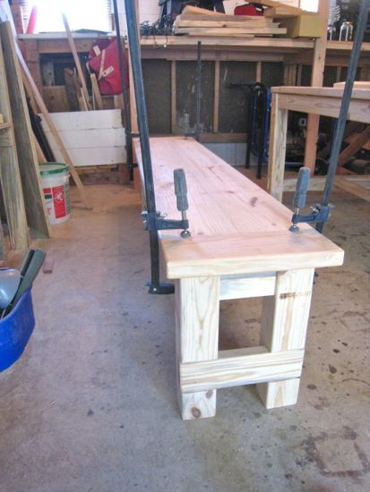 Excellent Instructions For Building A Farmhouse Bench Suzanne Gmtry Best Dining Table And Chair Ideas Images Gmtryco
