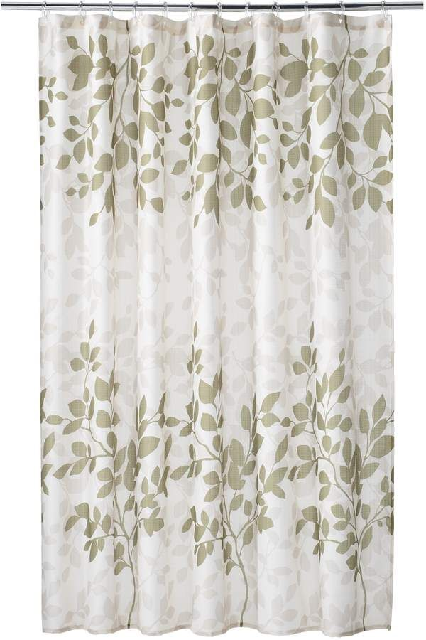 Home Classics Branch Shower Curtain Products In 2019 Curtains