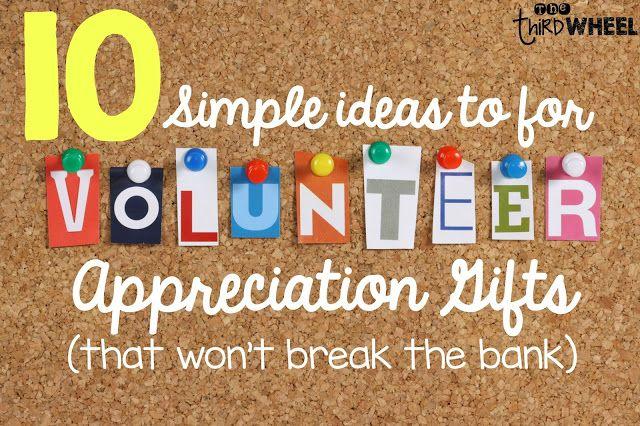 Classroom Volunteer Ideas : Classroom volunteer appreciation