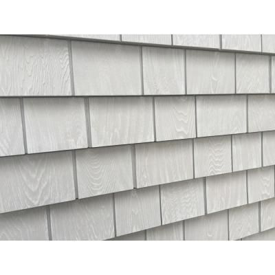 Grayne 6 1 2 In X 60 1 2 In Cape Grey Engineered Rigid Pvc Shingle Panel 5 In Exposure 24 Per Box 2546001 The Home Depot In 2020 Shingle Panel Shingling Vinyl Cedar Shake Siding