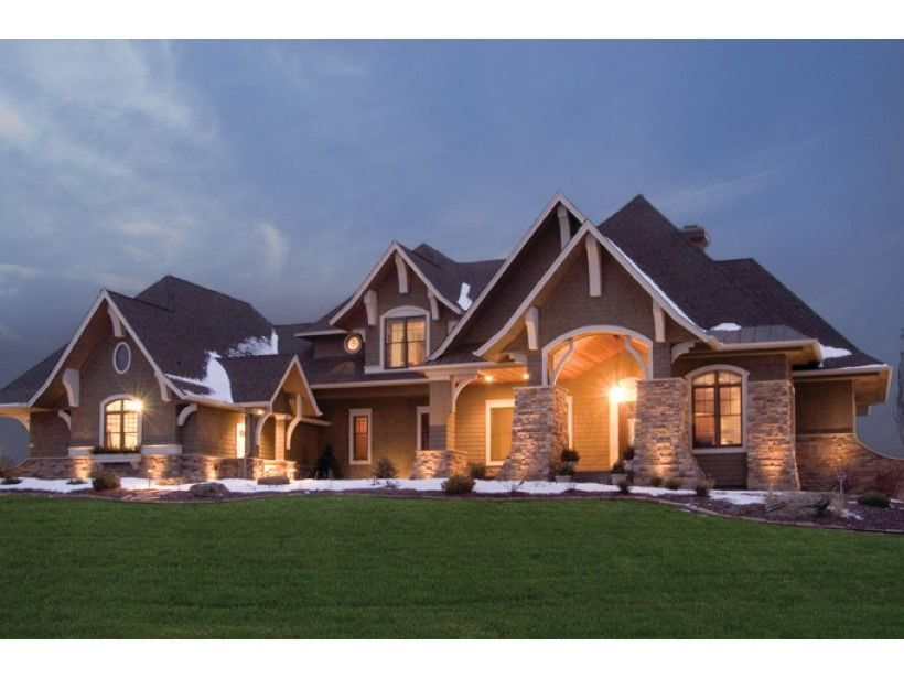 5 bedroom homes. There are in excess of square feet living space which includes 5 bedrooms  Floor Plan AFLFPW76725 is a beautiful 5077 foot Craftsman