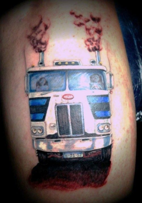 Peterbilt cabover tattoo heck yeah truck this and for Tattoo shops in winston salem nc