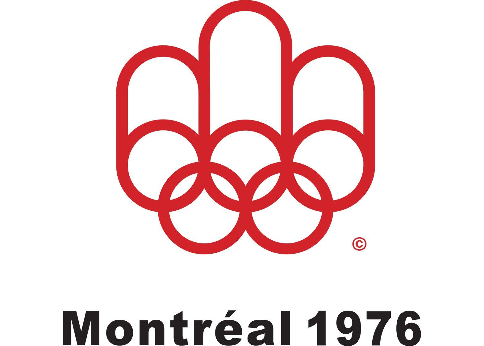 Logo of the 1976 Montreal Olympics   Olympic logo, Olympic ...