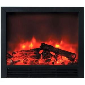 Widescreen Floor Standing 33 In H Black Electric Fireplace Df Efp765 At The Home Depo Electric Fireplace Insert Recessed Electric Fireplace Electric Fireplace