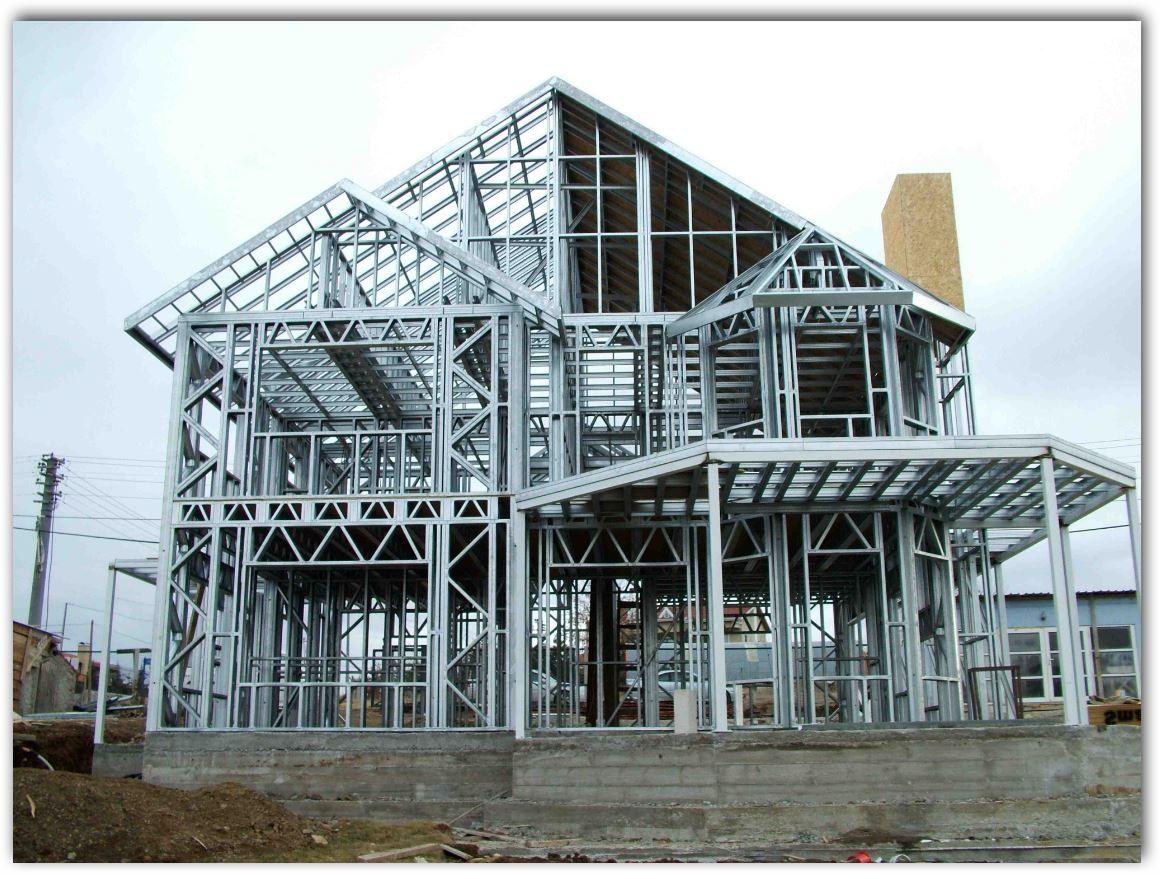 Que es steel framing estr metal pinterest steel steel frame diy do it yourself prefab home steel framing kit include each section is numbered to a correspond to the stamped engineered master plan that is included solutioingenieria Choice Image