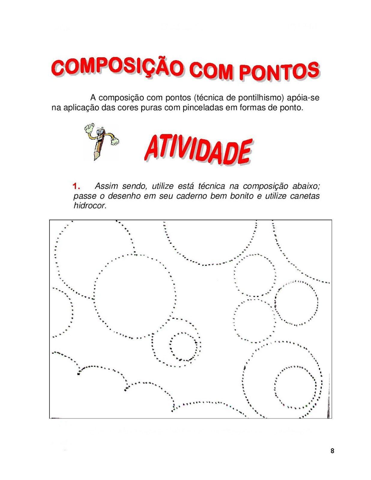 Atividades De Artes Ensino Fundamental Para Imprimir Atividades