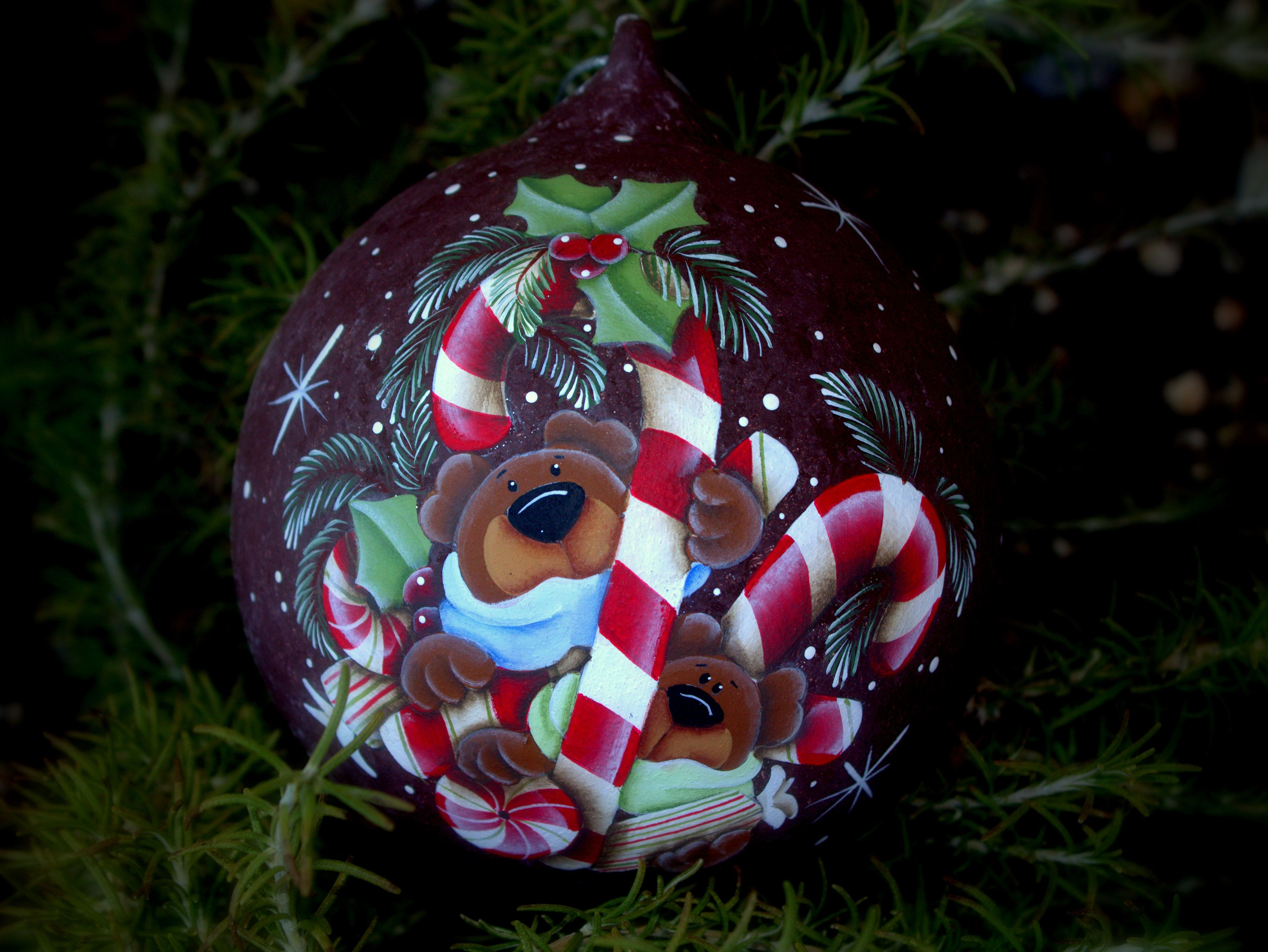 Christmas balls with own hands