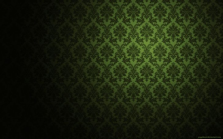 Victorian Wallpaper Pattern Green | Pictures only ...
