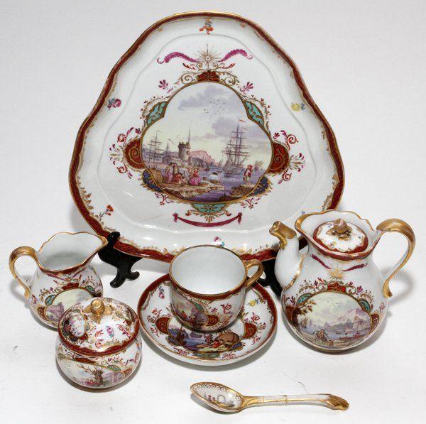 Augustus Rex Meissen Porcelain