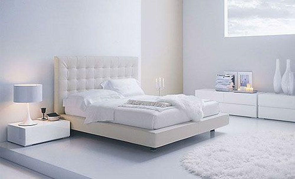 Luxurious White Bedroom Inspiration  Bedroom  Pinterest  Modern Enchanting White Bedroom Interior Design Inspiration