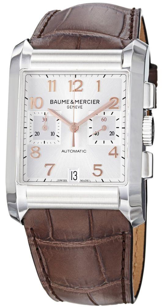 61b82c6eb Baume & Mercier Hampton Rectangular 10029   Baume et Mercier - Men's ...