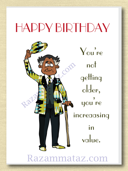 African American Male Birthday Card C Birthday Cards For Men