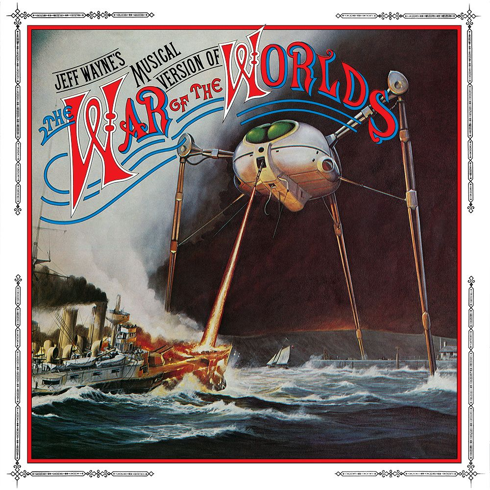Image Result For Jeff Wayne War Of The Worlds Album Cover