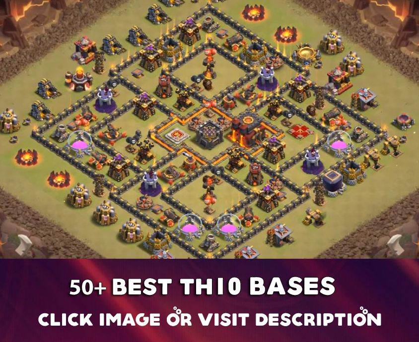 12 Best Th10 Base 2019 New Town Hall 10 Base Designs