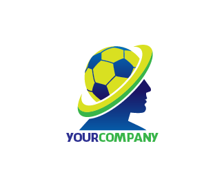 Logo Football Head Logo Design This Logo For Sport Company With Ball And Head Price 125 00