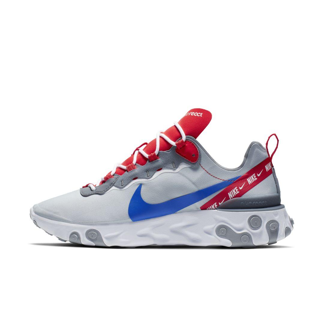 Nike React Element 55 Men's Shoe Size 11 (Wolf Grey) | Nouvelle ...