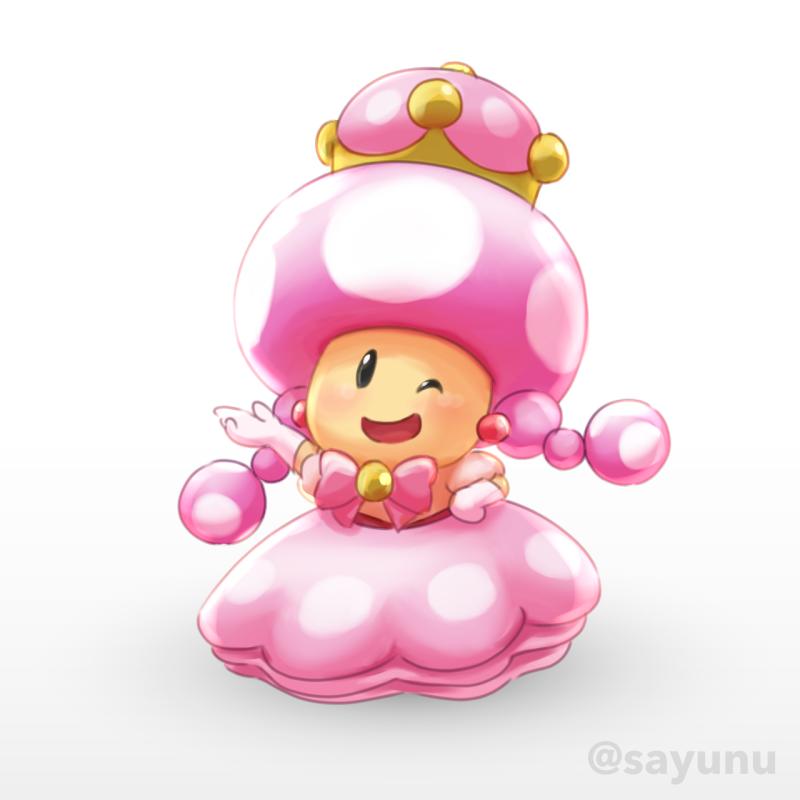 Princess Toadette Peachette Super Crown Super Mario Art Super Mario Mario And Luigi