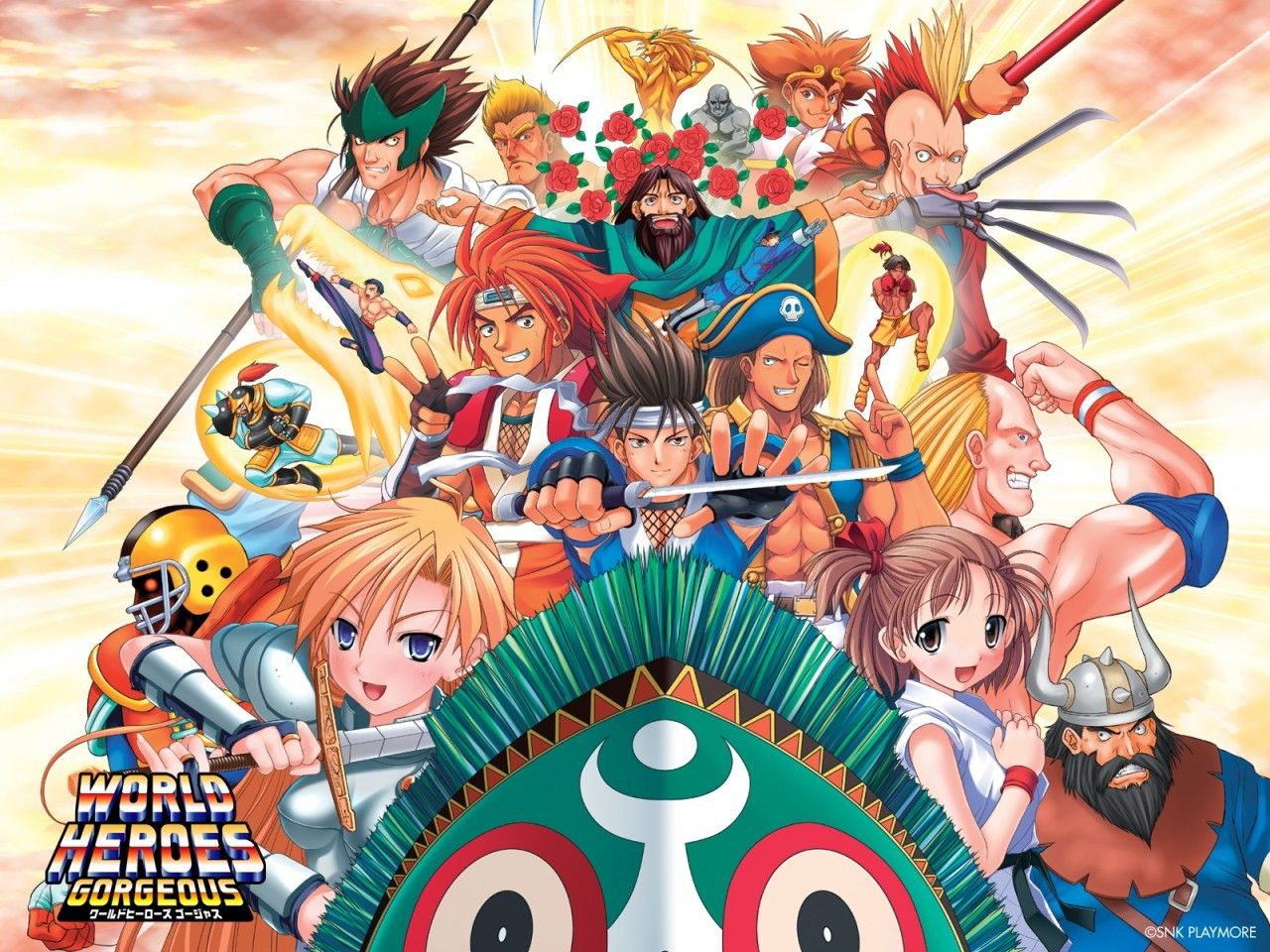 World Heroes Gorgeous Snk Hero World Video Game Genre Art Of Fighting
