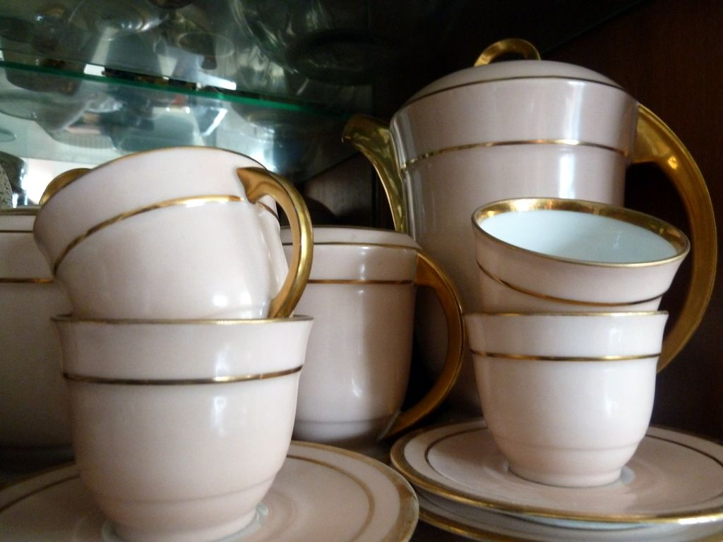Vintage French Art Deco Coffee set Limoges