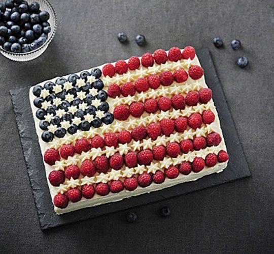 America's Birthday Cake CLICK HERE to Get the Recipe
